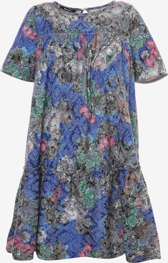 Madam-T Kleid 'EDEMIA' in blau / mischfarben, Produktansicht