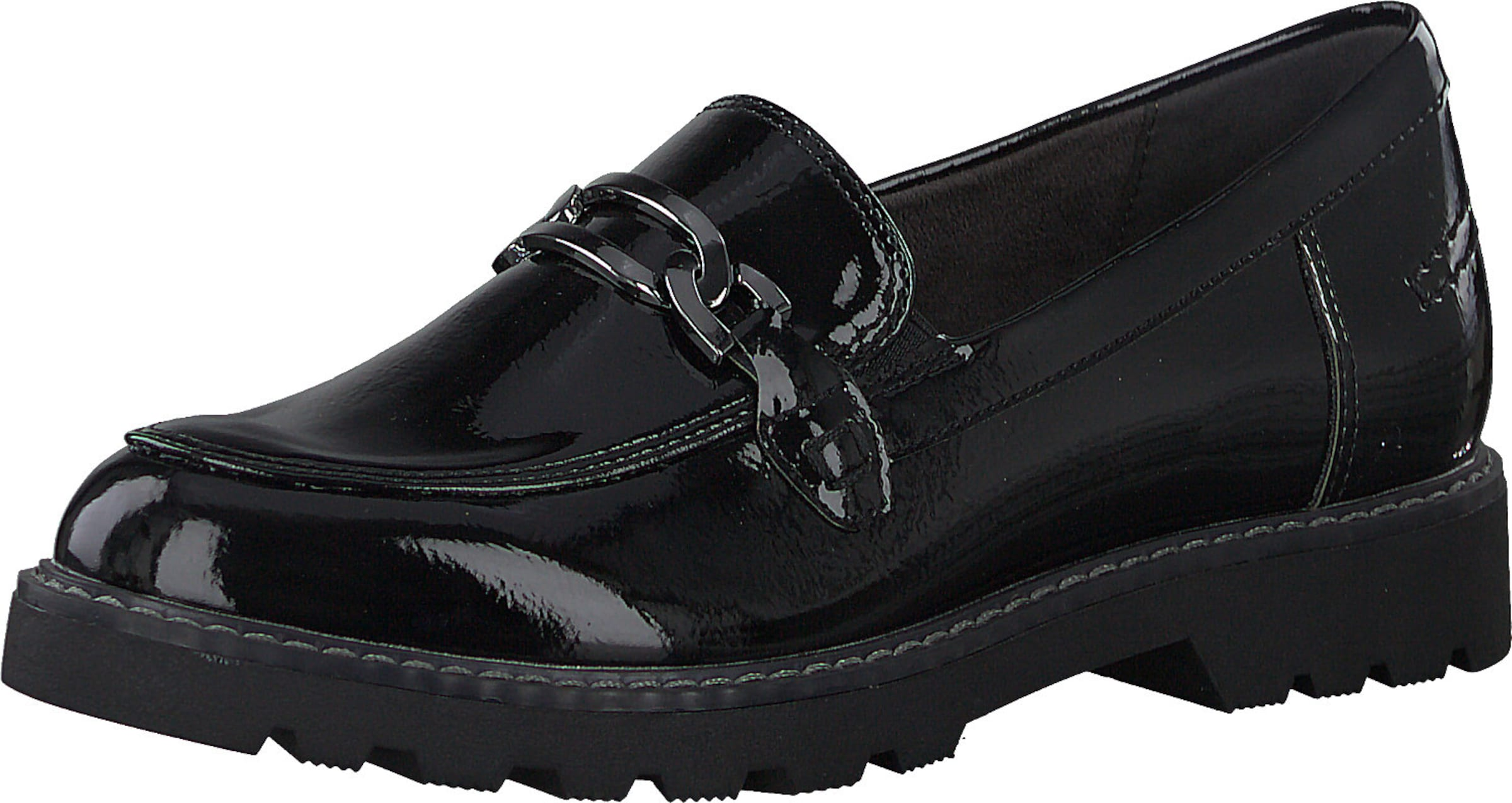 TAMARIS Slip-in i svart