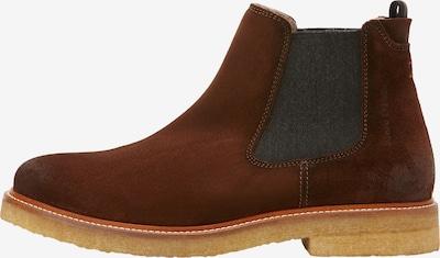 Marc O'Polo Chelsea boots in de kleur Blauw / Bruin, Productweergave