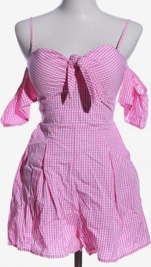 FB Sister Kurzer Jumpsuit in XS in pink / weiß, Produktansicht
