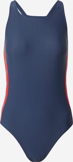 ADIDAS PERFORMANCE Badeanzug in navy / rot, Produktansicht