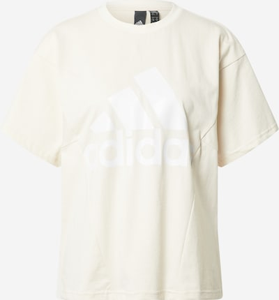 ADIDAS PERFORMANCE Sport-Shirt in weiß / eierschale, Produktansicht