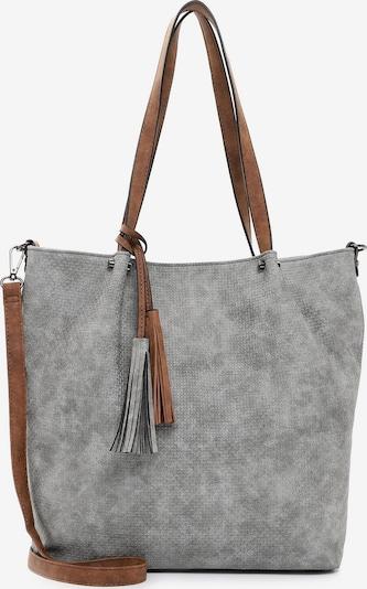 Emily & Noah Shopper 'Bag in Bag Surprise ' in Cognac / Grey, Item view