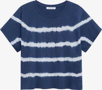 MANGO TEEN T-Shirt 'MATCHA' in Blau