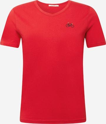 GREENBOMB T-Shirt in Rot