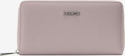 L.CREDI Brieftasche 'Florentia' in pink / altrosa, Produktansicht