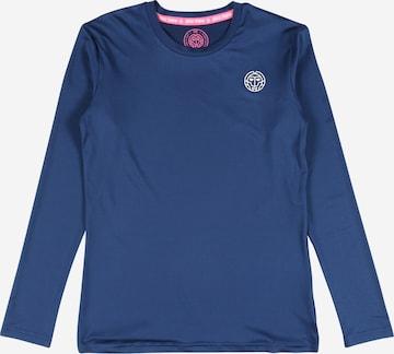 BIDI BADU Langarmshirt 'Mina' in Blau