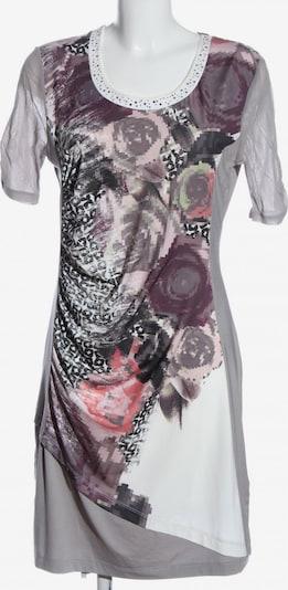 Biba Kurzarmkleid in M in hellgrau / lila / pink, Produktansicht