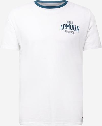 UNDER ARMOUR Shirt in taubenblau / weiß, Produktansicht