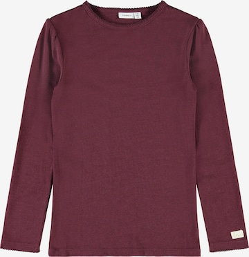 NAME IT Shirt 'Wyla' in Rood