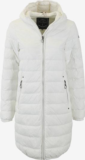DreiMaster Maritim Wintermantel in weiß, Produktansicht