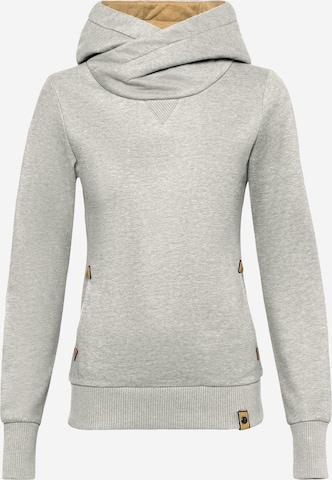 Fli Papigu Sweatshirt 'U Sexy I am Sexy' i grå