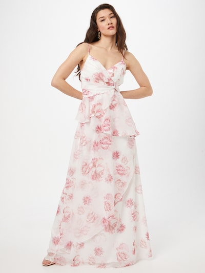 rózsaszín / rózsaszín / fehér Chi Chi London Nyári ruhák, Modell nézet