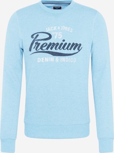 JACK & JONES Sportisks džemperis zils / debeszils / balts, Preces skats