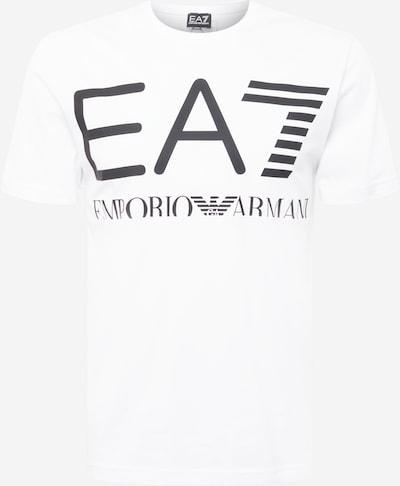 EA7 Emporio Armani T-shirt i svart / vit, Produktvy