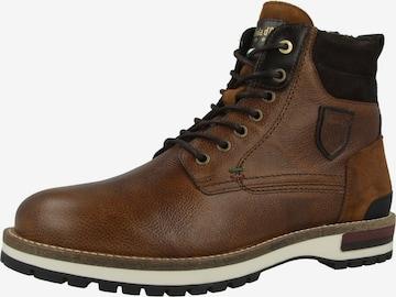 PANTOFOLA D'ORO Boots ' Pontida Uomo High ' in Braun