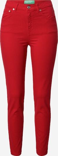 UNITED COLORS OF BENETTON Hlače u crvena: Prednji pogled