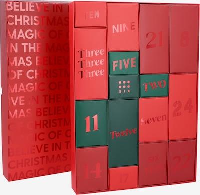 Six Box/mand in de kleur Lichtrood, Productweergave