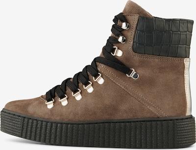 Shoe The Bear Schnürstiefel ' STB-AGDA S ' in creme / braun / schwarz, Produktansicht