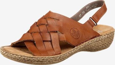 RIEKER Sandal i konjak, Produktvy