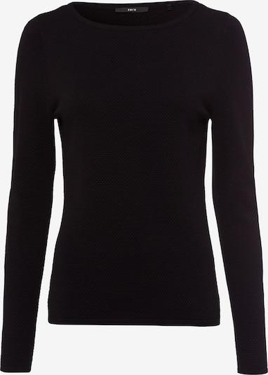 zero Pullover in schwarz, Produktansicht