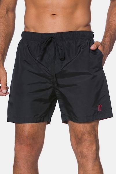 JP1880 JP 1880 Herren große Größen bis 7XL, Schwimmhose, Badehose, Elastikbund, Innenslip & halblang, schnell trocknend,  702532 in schwarz, Produktansicht