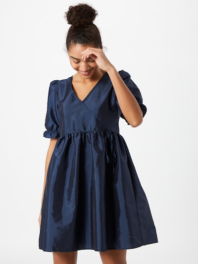 Y.A.S Kleid in dunkelblau, Modelansicht