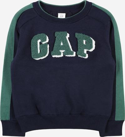 GAP Džemperis, krāsa - tumši zils / zaļš / balts, Preces skats