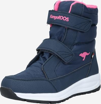 KangaROOS Snowboots 'Flossy' in de kleur Navy / Pink, Productweergave