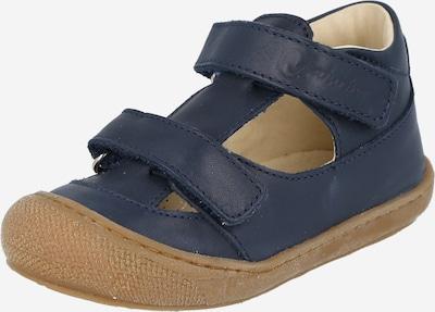 NATURINO Chaussures ouvertes 'PUFFY' en bleu foncé, Vue avec produit
