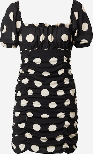 Miss Selfridge Robe en noir / blanc, Vue avec produit