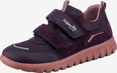 SUPERFIT Sneaker in grau / lila / pink, Produktansicht