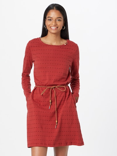 Ragwear Dress 'VERBENA' in bright red / Black, View model