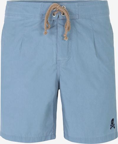 Scalpers Shorts de bain en bleu fumé / bleu nuit, Vue avec produit