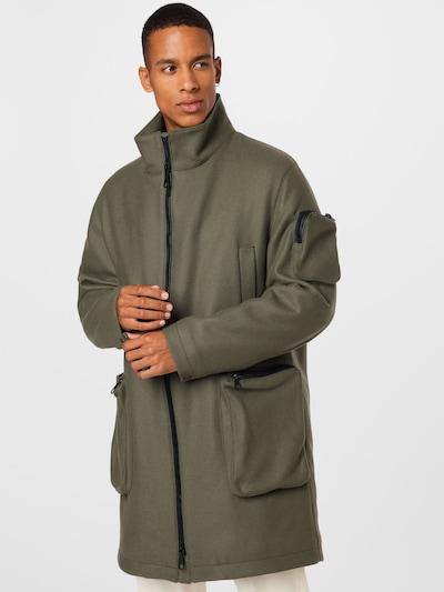 DRYKORN Övergångsrock 'JOBURG' i khaki, På modell