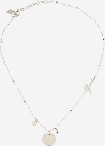 GUESS Kette 'Greek Peony' in Silber