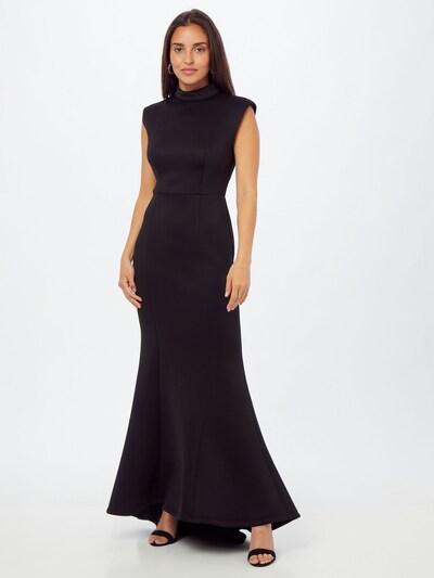 Jarlo Avondjurk 'OLGA' in de kleur Zwart, Modelweergave