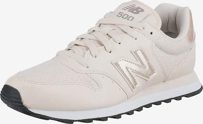 new balance Sneaker in beige / gold: Frontalansicht