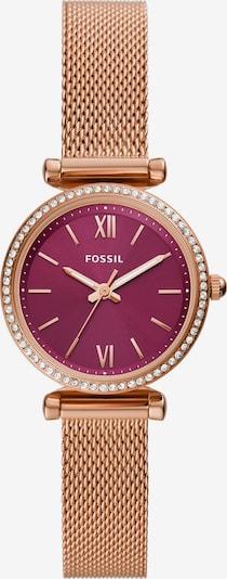 FOSSIL Analoog horloge in de kleur Rose-goud / Pitaja roze, Productweergave