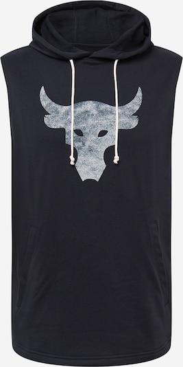 UNDER ARMOUR Sportsweatshirt in schwarz / weiß, Produktansicht