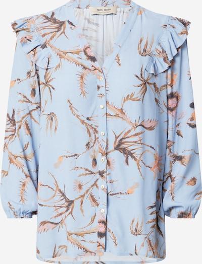 MOS MOSH Блуза 'Debby Thistle' в синьо / пъстро: Изглед отпред