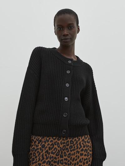 EDITED Kardigán 'Sharon' - čierna, Model/-ka