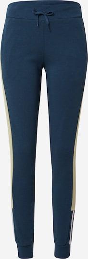 ADIDAS PERFORMANCE Pantalon de sport en bleu foncé / jaune / blanc, Vue avec produit
