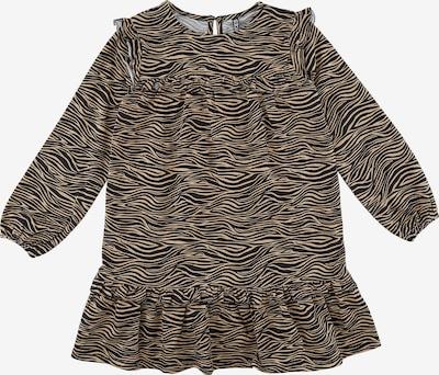 Little Pieces Kleid 'Mulia' in hellbraun / schwarz, Produktansicht