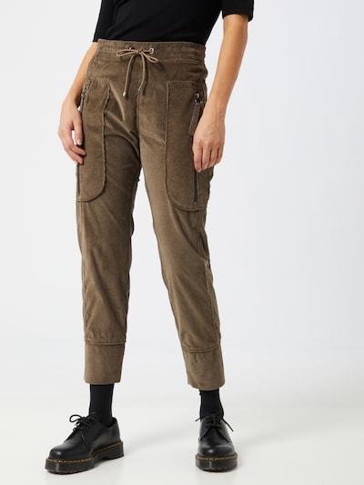 Kelnės iš MAC , spalva - ruda, Modelio vaizdas
