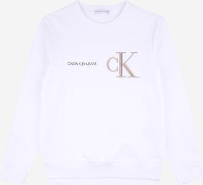 Calvin Klein Jeans Mikina - režná / černá / bílá, Produkt