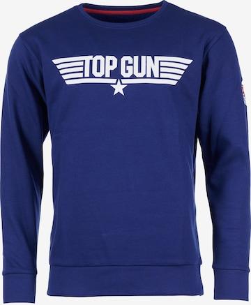 TOP GUN Sweatshirt in Blau