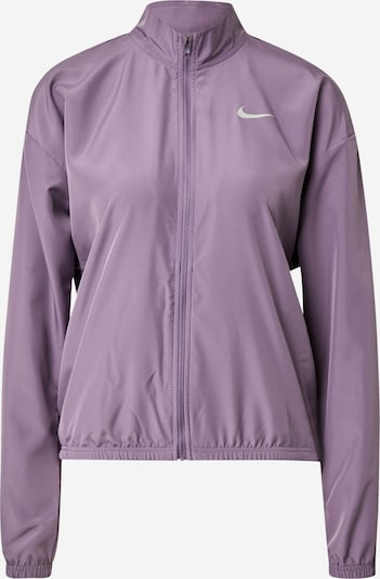 NIKE Athletic Jacket in Orchid / White, Item view
