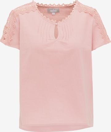 Usha Shirt in Pink
