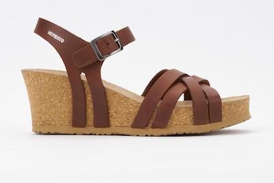 MEPHISTO Sandale 'Lanny' in braun, Produktansicht